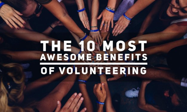 The 10 Most Awesome Benefits of Volunteering