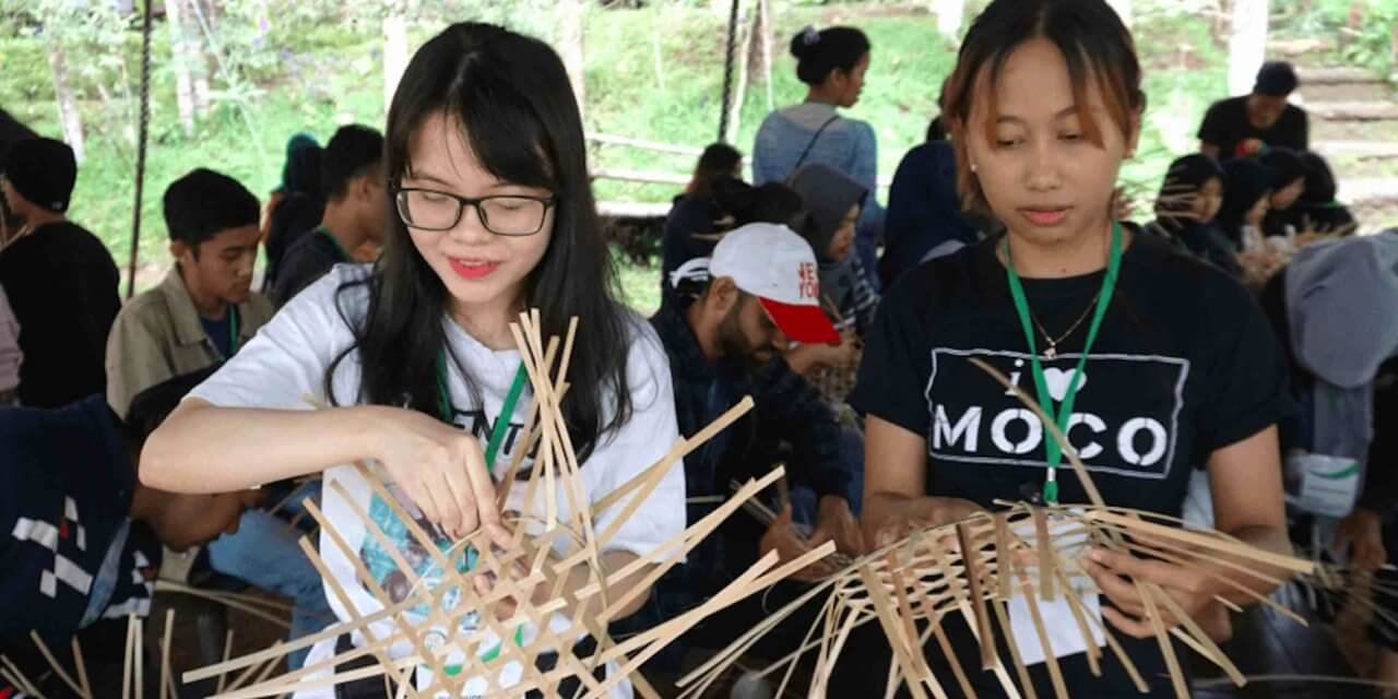 Asia Youth Leader Culture Camp 2020 in Bandung, Indonesia
