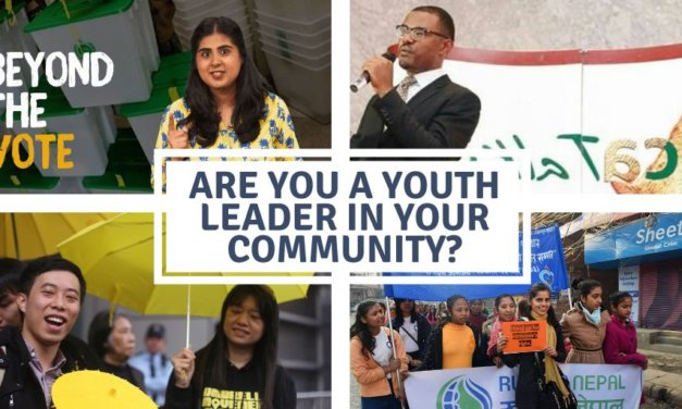 The Hurford Youth Fellowship 2020 for Youth Leaders