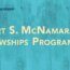 World Bank Group – McNamara Fellowships Program