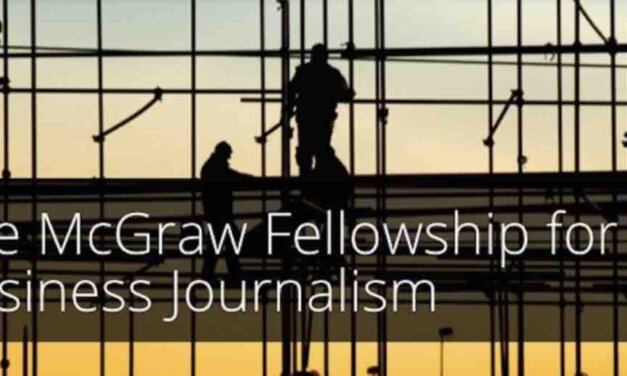 McGraw Fellowship for Business Journalism 2021