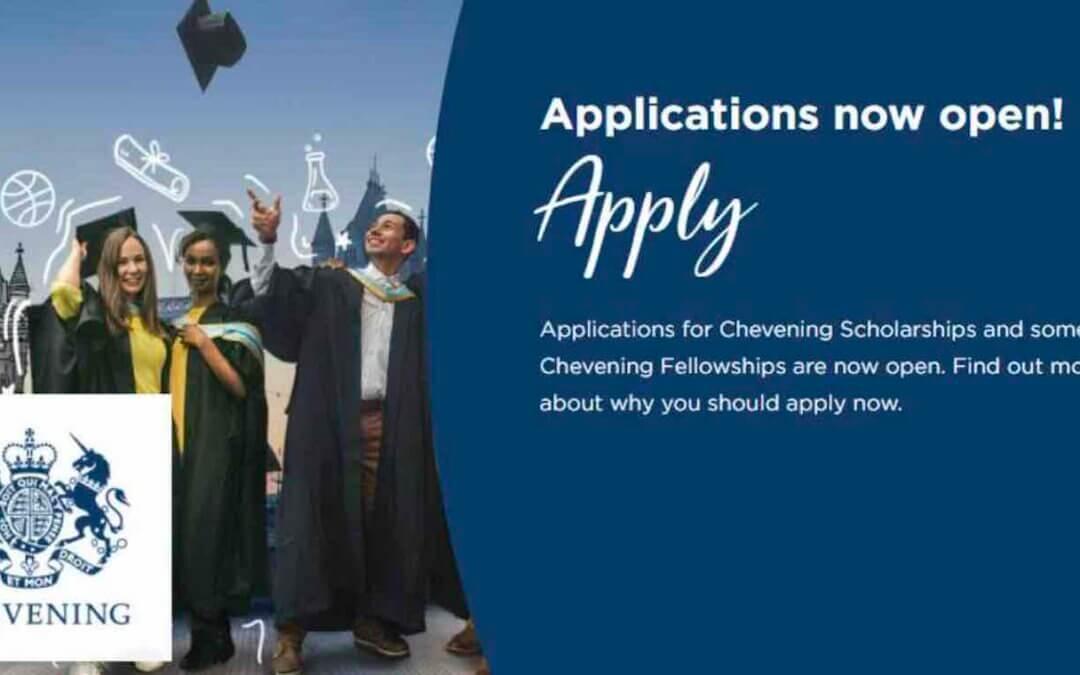 Chevening Scholarship 2021-22 (Fully Funded)